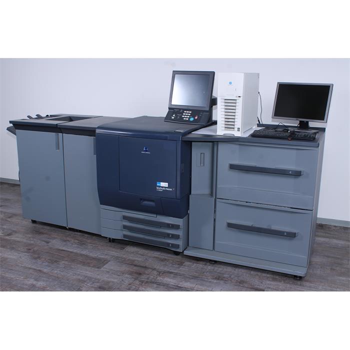 Minolta-bizhub-PRESS-C7000p-Farbproduktions-System-inkl-IC-307-Creo-Controller