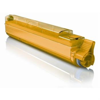 Toner Oki C 9600/9650/9800/9850 Yellow 40493