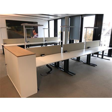 Büromöbelkonzept von Palmberg (40 Arbeitsplätze)