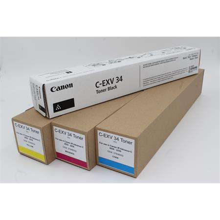 Toner-Bundle Canon iR Advance C 2020 - 2230 80000006 C-EXV 34