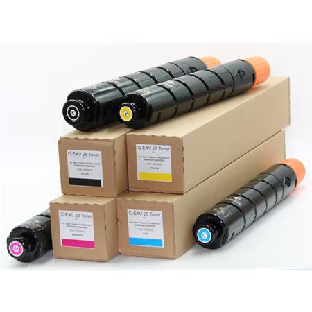 Toner-Bundle Canon iR Advance C 5045 - 5255 80000007 C-EXV 28